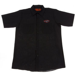 EVH Woven Work Shirt - Black, XXL