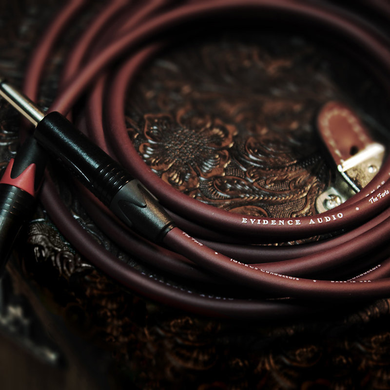 View larger image of Evidence The Forte Guitar/Instrument Cable - Straight 1/4, Right Angle 1/4, 10'