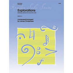 Explorations: Featuring 5 Selections from Around the World (Piccolo Solo Sheet Music)