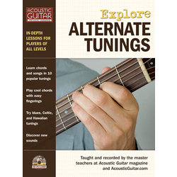 Explore Alternate Tunings (Softcover with CD & TAB)