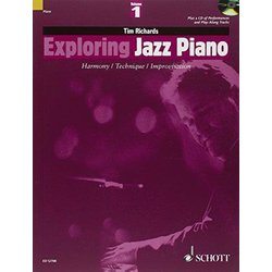 Exploring Jazz Piano - Volume 1 (Softcover with CD)