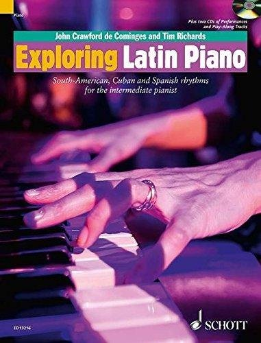 View larger image of Exploring Latin Piano (Softcover with CD)