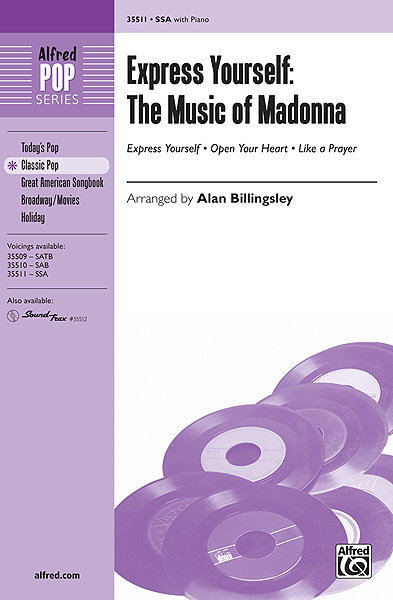 View larger image of Express Yourself - The Music of Madonna, SSA Parts