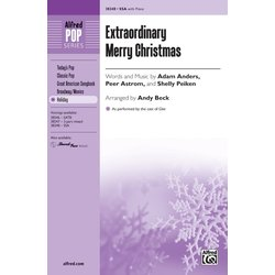 Extraordinary Merry Christmas (From Glee), SSA Parts