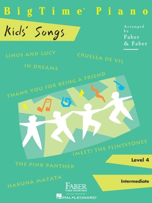 View larger image of BigTime Piano Level 4 - Kids' Songs