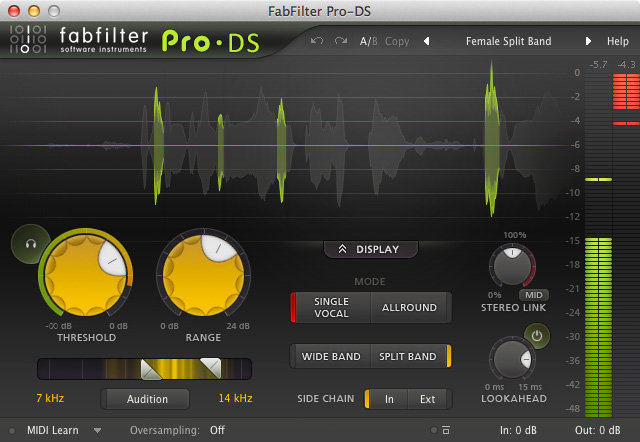 View larger image of FabFilter Pro-DS - Digital Download