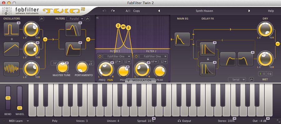 View larger image of FabFilter Twin 2 - Digital Download