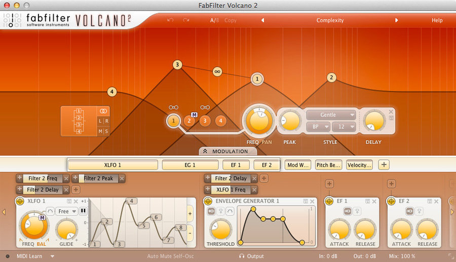 View larger image of FabFilter Volcano 2 - Digital Download