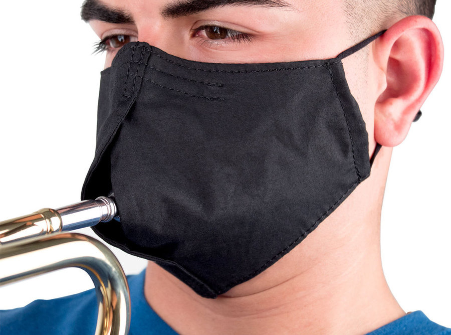 View larger image of Protec Wind Instrument Facemask - Medium