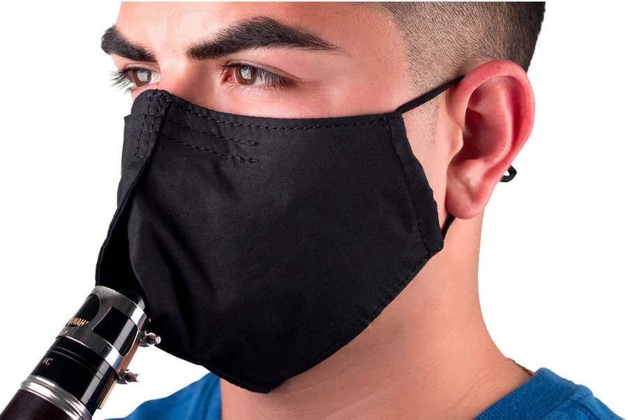 View larger image of Protec Wind Instrument Facemask - Small