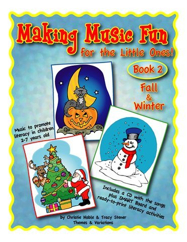 View larger image of Fall and Winter Songs - Making Music and Literacy Fun Vol. 2