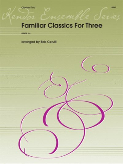View larger image of Familiar Classics for Three - (Clarinet Trio)
