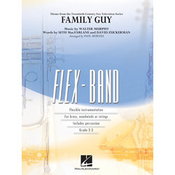 Family Guy (Theme) - Score & Parts, Grade 2-3