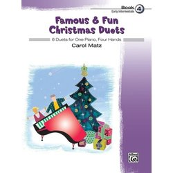 Famous & Fun Christmas Duets, Book 4 (1P4H)