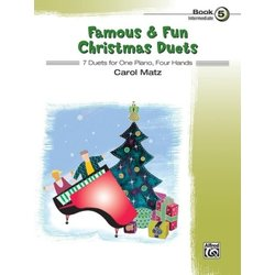 Famous & Fun Christmas Duets, Book 5 (1P4H)