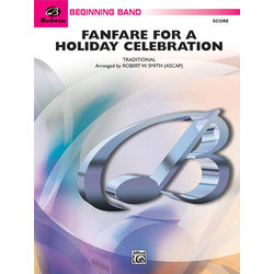 Fanfare for a Holiday Celebration - Score & Parts, Grade 1