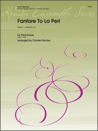 View larger image of Fanfare To La Peri - Brass Quintet