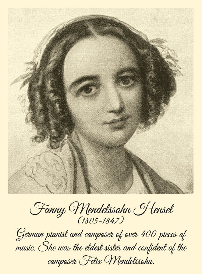 View larger image of Fanny Mendelssohn Hensel Women of Note Cards - 10 Box