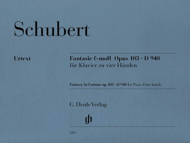 View larger image of Fantasy In F Minor Op.103 D 940 (Schubert) (1P4H)