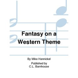 Fantasy on a Western Theme - Score & Parts, Grade 2