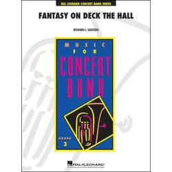 Fantasy on Deck The Hall - Score & Parts, Grade 3