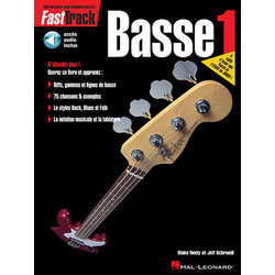 FastTrack Bass Method – Book 1 – French Edition w/Online Audio