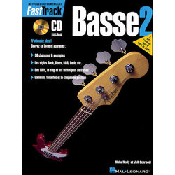 FastTrack Bass Method – Book 2 – French Edition w/CD