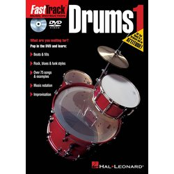 FastTrack Drums Method 1 (DVD)