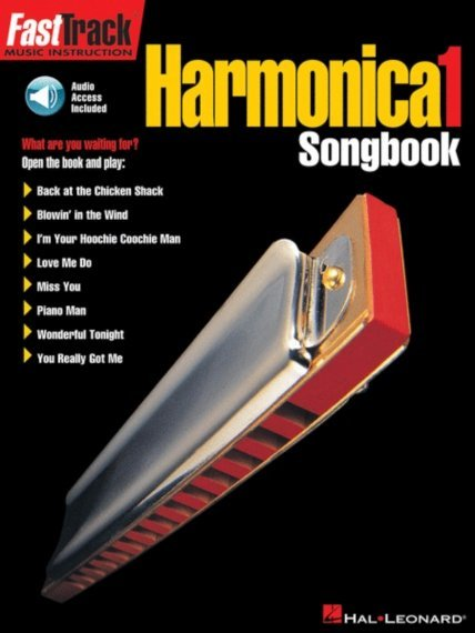 View larger image of FastTrack Harmonica Songbook – Level 1 - w/Online Audio