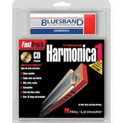 FastTrack Mini Harmonica Pack - (Book/CD/Harmonica)
