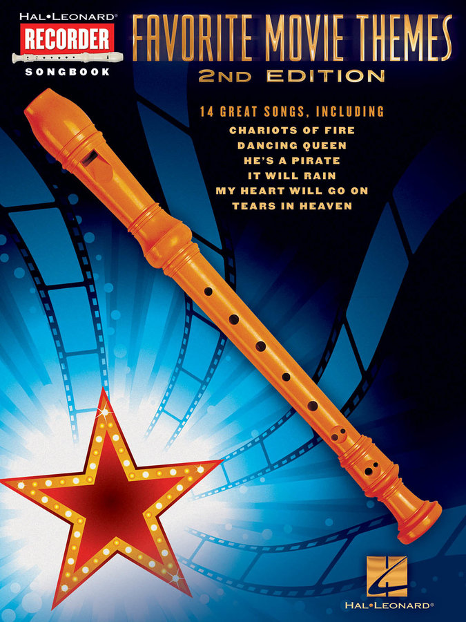 View larger image of Favorite Movie Themes (Recorder)