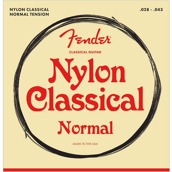 View larger image of Fender 100 Classical Nylon Acoustic Guitar Strings - Tie End, 28-43