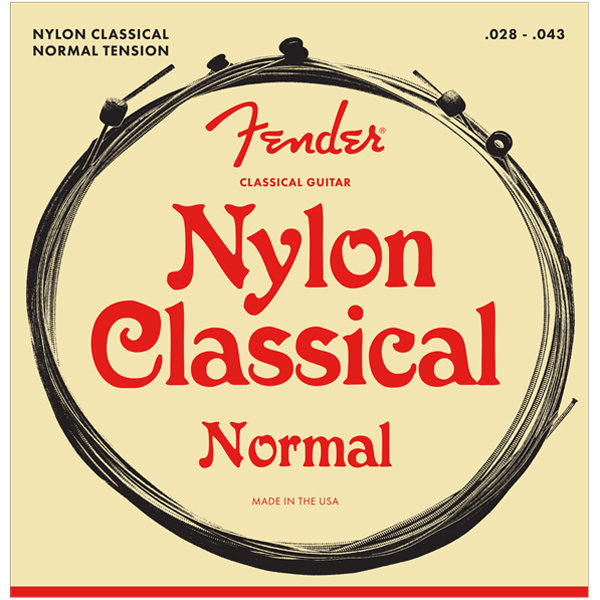 View larger image of Fender 130 Classical Nylon Acoustic Guitar Strings - Ball End, 28-43