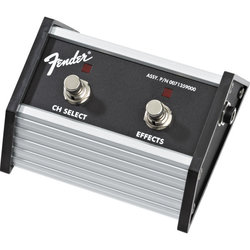 Fender 2-Button Footswitch - Channel Select/Effects On/Off