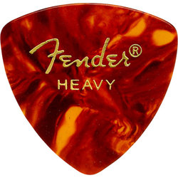Fender Classic Celluloid Picks - Heavy, 346 Shape, Shell, 12 Pack
