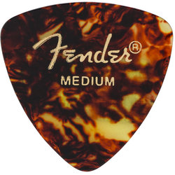 Fender Classic Celluloid Picks - Medium, 346 Shape, Shell, 12 Pack