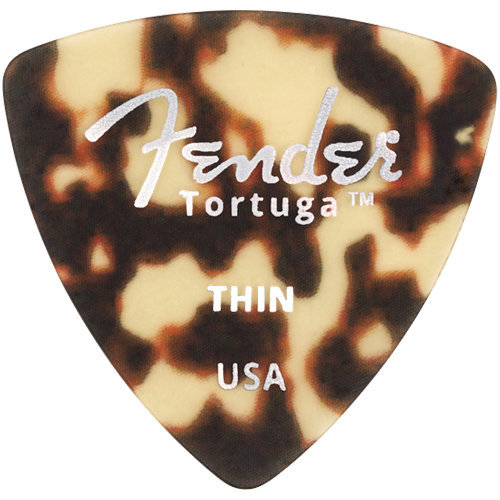View larger image of Fender Tortuga Picks - Thin, 346 Shape, 6 Pack