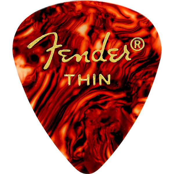 View larger image of Fender 351 Shape Premium Picks - Thin, Shell, 12 Pack