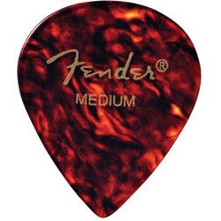 Fender Classic Celluloid Picks - Thin, 551 Shape, Shell, 12 Pack