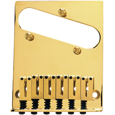 View larger image of Fender 6-Saddle American Series Telecaster Bridge Assembly - Gold