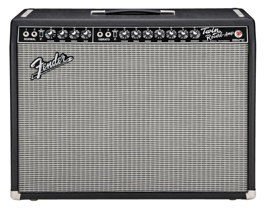 View larger image of Fender '65 Twin Reverb Guitar Amp - Black