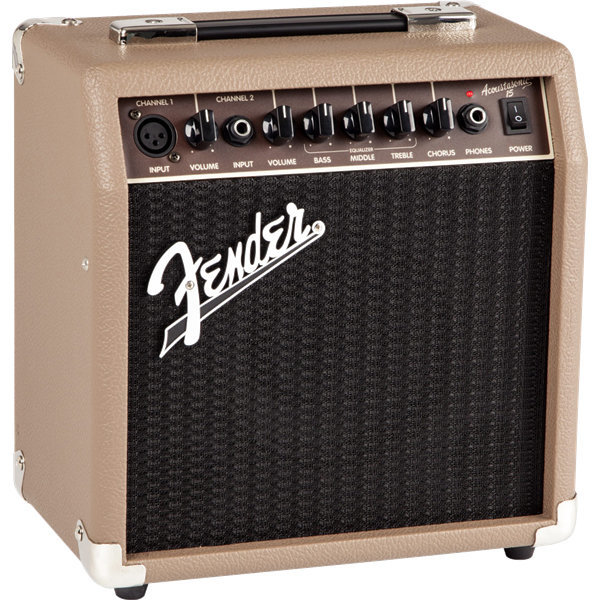 View larger image of Fender Acoustasonic 15 Acoustic Combo Amp - Brown