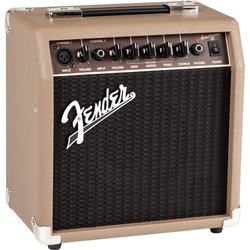 Fender Acoustasonic 15 Acoustic Combo Amp - Brown