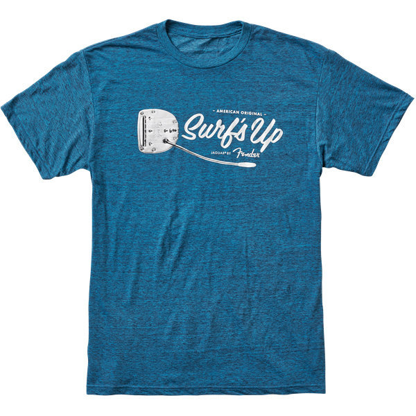 View larger image of Fender American Original Surf's Up T-Shirt - Teal, Small