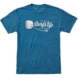 Fender American Original Surf's Up T-Shirt - Teal, Small