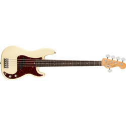 Fender American Professional II Precision Bass V - Rosewood, Olympic White