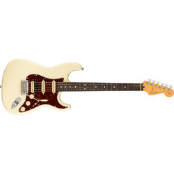 Fender American Professional II Stratocaster HSS - Rosewood, Olympic White
