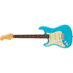 Fender American Professional II Stratocaster - Rosewood, Miami Blue, Left