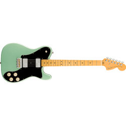 Fender American Professional II Telecaster Deluxe - Maple, Mystic Surf Green