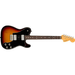 Fender American Professional II Telecaster Deluxe - Rosewood, 3 Color Sunburst